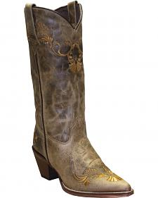 Rawhide by Abilene Boots Women's Embroidered Western Boots - Pointed Toe