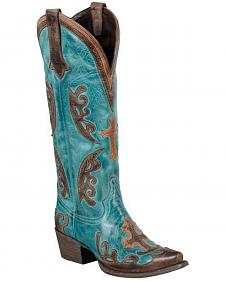 Lane Grace Cowgirl Boots - Snip Toe