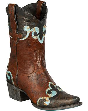 Lane Dakota Short Cowgirl Boots - Snip Toe