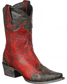 Lane Dakota Short Cowgirl Boots - Snip Toe