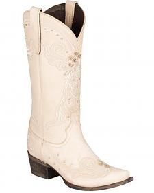 Lane Wedding Cowgirl Boots - Snip Toe