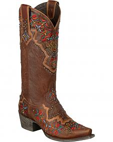 Lane Glitz and Glamour Cowgirl Boots - Snip Toe