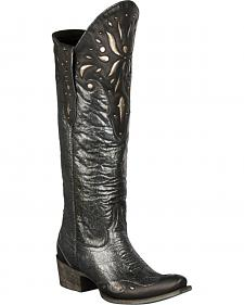 Lane Sunburst Cowgirl Boots - Snip Toe