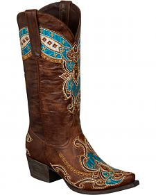 Lane Alexandria Cowgirl Boots - Snip Toe