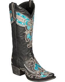 Lane Alexandria Cowgirl Boots - Snip Toe