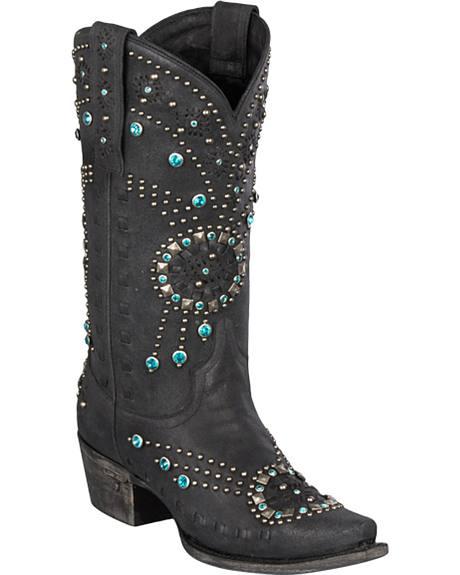 Lane Elizabeth Cowgirl Boots - Snip Toe