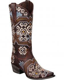 Lane Yaretzi Cowgirl Boots - Snip Toe