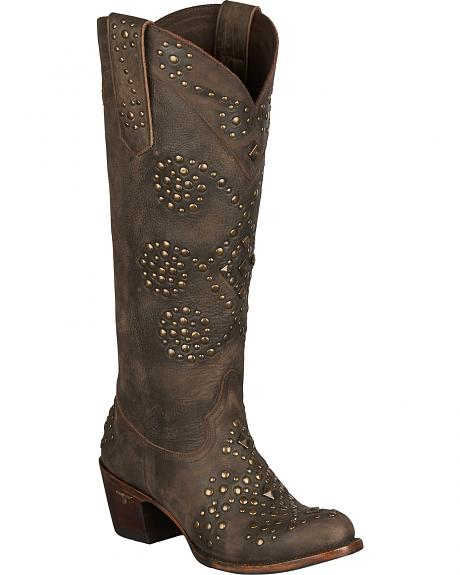 Lane Glam Cowgirl Boots - Round Toe