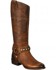 Lane Westminster Harness Boots - Round Toe