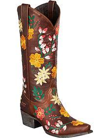 Lane Gitana Cowgirl Boots - Snip Toe