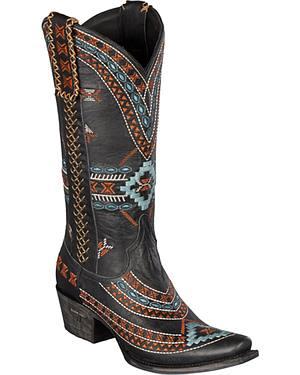 Lane Taos Cowgirl Boots - Snip Toe