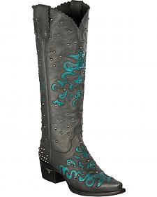 Lane Tiffany Cowgirl Boots - Snip Toe
