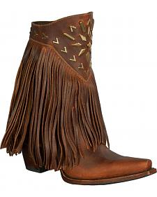 Lane Fringe It Cowgirl Boots - Snip Toe