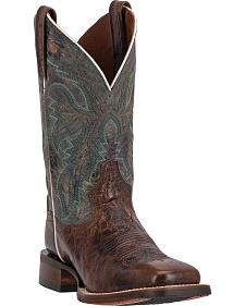 Dan Post Teton Stockman Cowgirl Boots - Square Toe