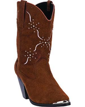 Dingo Womens Sonnet Cowgirl Boots - Medium Toe
