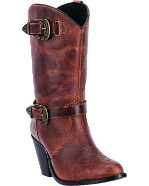 Dingo Womens Nelly Zipper Boots