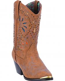 Dingo Annabelle Women's Retro Western Boots - Pointed Toe