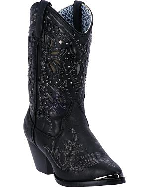 Dingo Annabelle Womens Retro Western Boots - Pointed Toe
