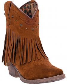 Dingo Cassidy Women's Fringe Western Boots - Snip Toe