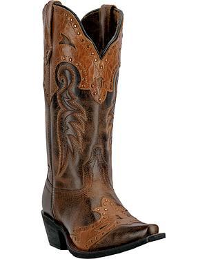 Laredo Ramona Cowgirl Boots - Snip Toe
