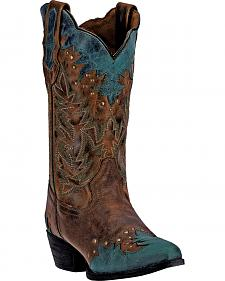 Laredo Antigua Cowgirl Boots - Snip Toe