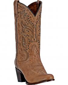 Dan Post Melba Cowgirl Boots - Round Toe