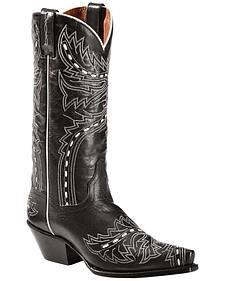 Dan Post Lori Cowgirl Boots - Snip Toe