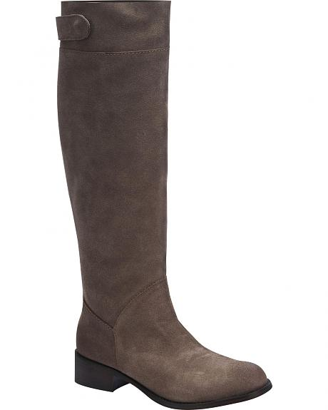 Corral Women's Suede Tall Riding Boots