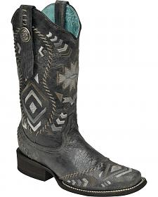 Corral Women's Whipstitched Cowgirl Boots - Square Toe