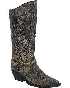 Corral Women's Eagle Harness Boots - Snip Toe