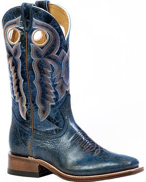 Boulet Puma Turqueza Cowgirl Boots - Square Toe