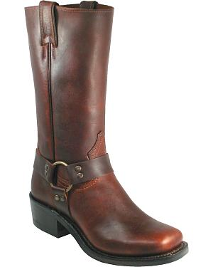 Boulet Grizzly Mountain Harness Boots - Square Toe