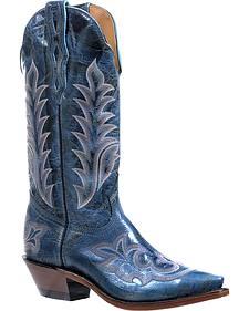 Boulet Puma Turqueza Cowgirl Boots - Snip Toe