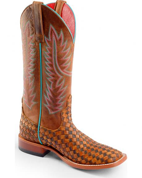 Anderson Bean Boots Macie Bean Unbeweavable Cowgirl Boots - Square Toe