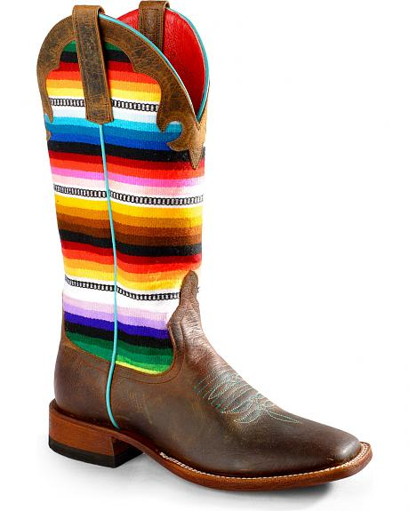 Anderson Bean Boots Macie Bean Lefty's Pancho Boots - Square Toe