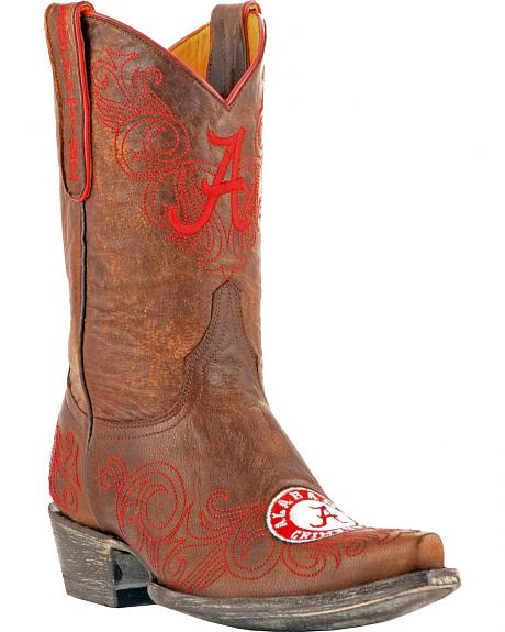 Gameday Boots Women's University of Alabama Western Boots - Snip Toe