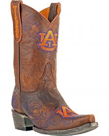 Gameday Auburn University Cowgirl Boots - Snip Toe
