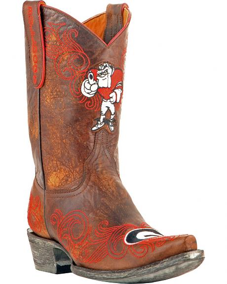 Gameday Boots Women's University of Georgia Western Boots - Snip Toe