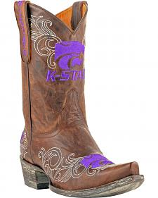 Gameday Kansas State University Cowgirl Boots - Snip Toe