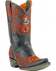 Gameday Oklahoma State University Cowgirl Boots - Snip Toe