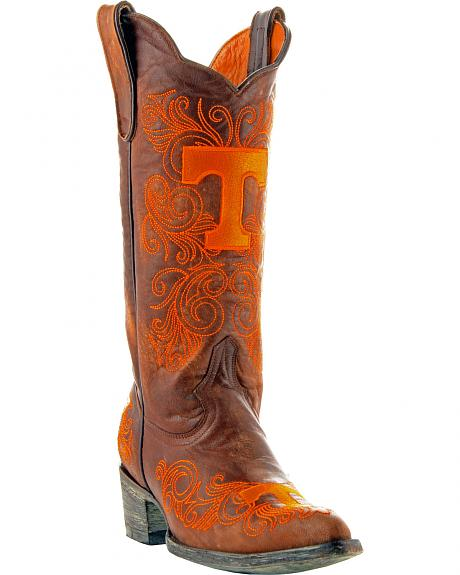 Gameday Boots Women's University of Tennessee Western Boots - Pointed Toe