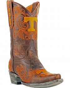 Gameday Boots Women's University of Tennessee Short Western Boots - Snip Toe