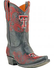 Gameday Boots Women's Texas Tech University Short Western Boots - Snip Toe