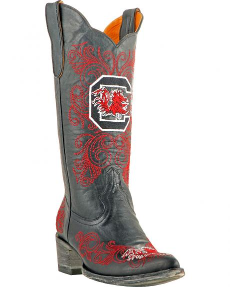 Gameday Boots Women's University of South Carolina Western Boots - Pointed Toe