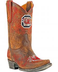 Gameday Boots Women's University of South Carolina Short Western Boots - Snip Toe