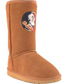 Gameday Boots Women's Florida State University Lambskin Boots