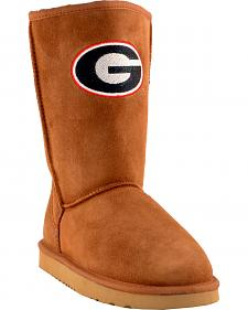 Gameday Boots Women's University of Georgia Lambskin Boots