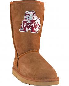 Gameday Boots Women's Mississippi State University Lambskin Boots