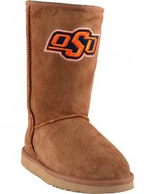 Gameday Boots Women's Oklahoma State University Lambskin Boots