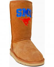Gameday Boots Women's Southern Methodist University Lambskin Boots